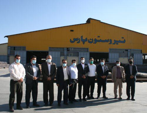 بازدید نماینده محترم مردم لارستان در مجلس شورای اسلامی و هیئت همراه